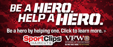 Sport Clips Haircuts of Mansfield​ Help a Hero Campaign